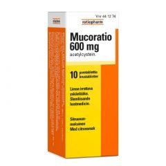 MUCORATIO 600 mg poretabl 10 kpl